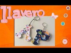 Reconocerás tus llaves al instante con un llavero tan personal como este. ;)