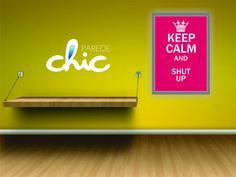 Coleção de Placas decorativas da Parede Chic Keep Calm. Placas bem humoradas Decore sua parede #PlacaDecorativa #AdesivoDeParede #ParedeChic #DecoracaoDeParede #Decoracao #ideias #placashumoradas #placasengracadas