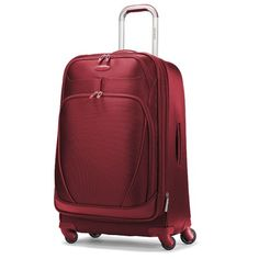I had been told that Samsonite was downmarket and not great quality, but this seems to get great reviews. And I think I love the color and style.