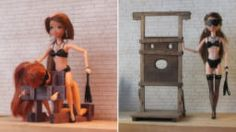 Designer Creates Doll-Sized BDSM Furniture And Accessories That You Will Find Them Kinky