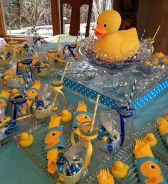 Ducks  --make your own bubble bath favors