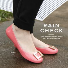 731a6428bfed8 April showers are no match for Oka-B flats! Find your new favorite rainy