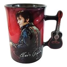 Buy Elvis Presley Mug with Guitar Handle by Kitchen7