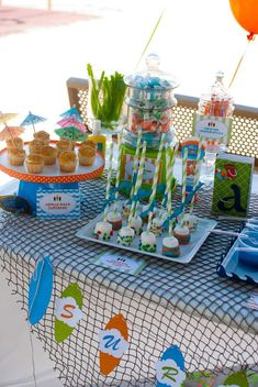 Surfer Boy Birthday Party Ideas | Photo 8 of 19 | Catch My Party