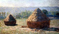 Claude Oscar Monet - Heuhaufen