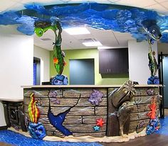 Ocean Themed Dental Office by Imagination Dental Solutions