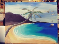 Choices, Waves, Painting, Outdoor, Art, Outdoors, Art Background, Painting Art, Kunst