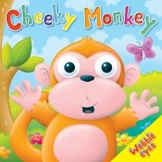 Monkey Board book from Andersons Wholesale (WHB 04307 04260)