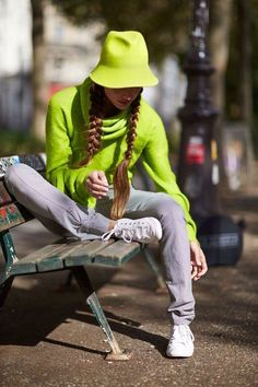 Шляпы ручной работы. Шляпка Колокольчик. Лилия Гуреева. Интернет-магазин Ярмарка Мастеров. Милая шляпка, уличная фотосессия, спорт