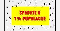 Samo 1% populacije posjeduje ovaj matematički vid! Uradite KVIZ i saznajte da li posjedujete vi!