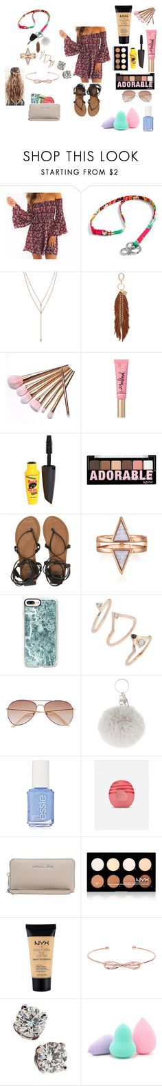 """Untitled #46"" by ajgswim on Polyvore featuring Vera Bradley, Vince Camuto, Rebecca Minkoff, Wrangler, L.A. Colors, NYX, Billabong, Casetify, Topshop and H&M"