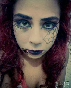 Halloween makeup #makeup #makeuphalloween #halloweenmakeup #artisticmakeup