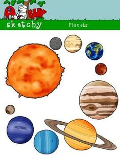 Explore 8 Planets Clipart and more!  Pinterest