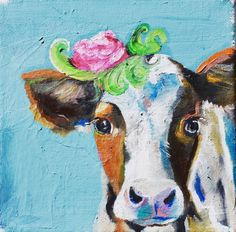 A cow named 'Duchess' by JJHowardFineArt on Etsy