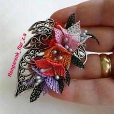 Needle Lace, Brooch, Crochet, Pattern, Jewelry, Lace, Manualidades, Jewlery, Bijoux