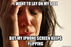 First World Problems. Why is this so funny? XD