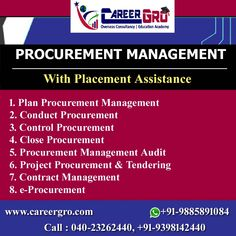 Careergro Overseas Consultant is one of the best study abroad consultants in Hyderabad. Procurement Process, Contract Management, Overseas Education, Study Abroad, How To Plan