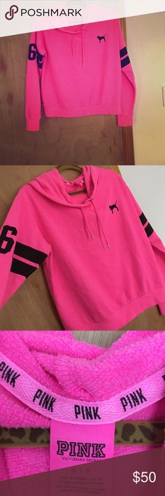 PINK Sweater 💨CLEARANCE 💨 Victoria's Secret‼️ Awesome sweater!!!! Haven't been worn too much. I'm selling because I have too much clothes. It sizes a Small-Medium. Feel free to leave a comment or ask for additional information. Also see my other listings. PINK Victoria's Secret Tops Sweatshirts & Hoodies