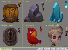 Exercise Results: Painterly Style by ConceptCookie.deviantart.com on @deviantART