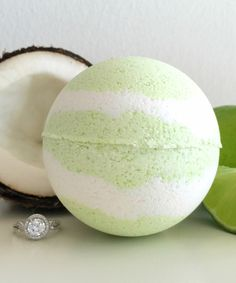 Look at this Coco Lime-A-Rita Ring Bath Bomb on #zulily today!