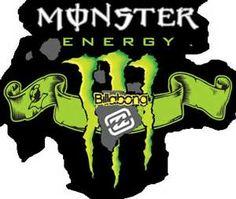 #Billabong monster energy logo