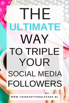 Do you love promoting your social media channels? Then you have to use this strategy to improve your social media followers. This is a simple marketing tip and works for Instagram, Facebook, Pinterest, Twitter and even Bloglovin!