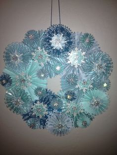 Stampin Up! Christmas Wreath 2013