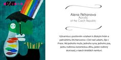 Czech Republic Acrylic Artist: Alena Peltanova  Featured in the July 2014 issue of Women in Art 278 Magazine View more of her work at www.peltanova.com  Learn more about Women in Art 278 Magazine at www.ART278.org
