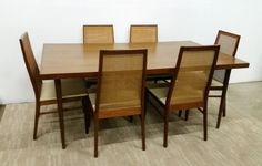 MCMBaughman ForDillingham Walnut Dining Table Only —
