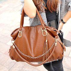 a4e54f443017 (FL008081) 2012 Arrival Korea Conciseness Fashion Chain Retro Shoulder Bag  Ladies Bags Cheap Fashion