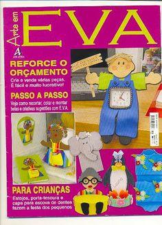 Artesanato com amor...by Lu Guimarães: Revista  Arte em EVA