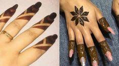 Ramazan Special 2 easiest mehndi design||bharwa design Tribal Henna Designs, Wedding Henna Designs, Henna Tattoo Designs Simple, Finger Henna Designs, Mehndi Designs For Beginners, Mehndi Designs For Girls, Unique Mehndi Designs, Mehndi Simple, Mehndi Designs For Fingers