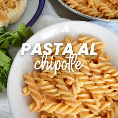 Pasta al chipotle - Easy Healthy Recipes, Easy Dinner Recipes, Easy Meals, Authentic Mexican Recipes, Mexican Food Recipes, Cooking For Dummies, Deli Food, Food Menu, Food Humor