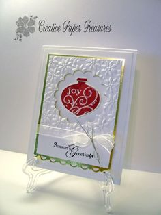 Elegant Christmas by scrapgal2 - Cards and Paper Crafts at Splitcoaststampers