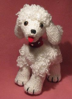PDF CROCHET PATTERN - Bebe The Baby Poodle