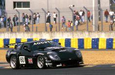 Agusta Callaway Corvette LM-GT 1997 Le Mans Almo Coppelli / Rocky Agusta / Éric Graham #motorsport #racing #lms #car #motor #passion #sport #prototype #gt #24h