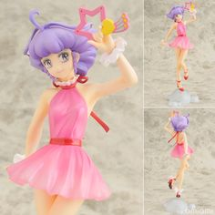 Mini Figure Bandai Desktop Collection GASHAPON CREAMY MAMI Pink Dress Ver