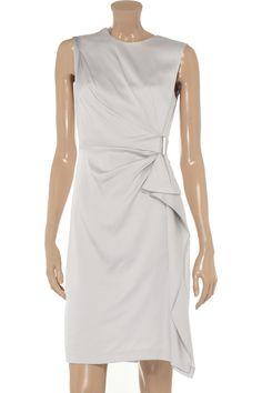 Alba draped stretch-silk dress by Diane von Furstenberg