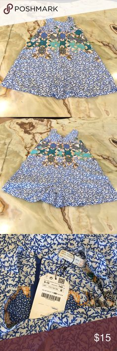 Zara Girls Casual Collection Romper Size 9/10 Zara Girls Romper, Multi Color, Floral, Sleeveless, 100% viscose , New with tag Zara Bottoms Jumpsuits & Rompers