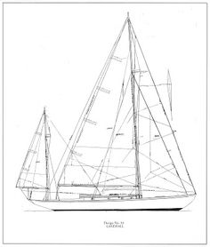 Sparkman & Stephens: Design 54 - Landfall