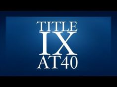 40 years later who's still thinking about Title IX? We are. Check out the blog http://admission.bayschoolsf.org/2013/02/conversations-40-years-of-title-ix/ & The White House film http://www.youtube.com/watch?v=3Jqj40dybSQ#.