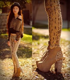 obsessed with jeffrey cambell Lita Booties