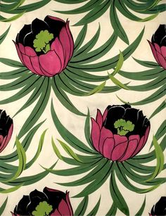 Collection of Approx. 200 Original Hand Painted Textile Designs image 8 Collection of Approx. Motifs Textiles, Textile Prints, Textile Patterns, Print Patterns, Motif Vintage, Vintage Prints, Art And Illustration, Pattern Illustration, Fabric Wallpaper