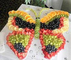 54 Ideas Fruit Appetizers For Kids Veggie Tray Fruit Appetizers, Fruit Snacks, Fruit Recipes, Appetizers For Party, Fruit Trays, Healthy Snacks, Vegetarian Snacks, Birthday Appetizers, Fruit Salads