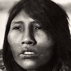 Selk'nam people from Tierra del Fuego : Angela Loig was one of the last Ona woman (1923-1976)