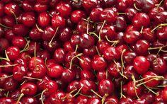 Jakie owoce sezonowe lubicie najbardziej? #owoce #fruits #fruit #cherry #wiśnie #czereśnie #wakacje #summer #lato #fototapeta #fototapeta24pl
