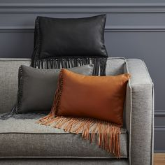 Get comfortable with our modern and stylish pillows for couches, chairs and beds. Shop decorative feather-down and down-alternative pillows at CB2.