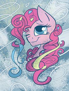 #281187 - artist:probablyfakeblonde, part of a set, pinkie pie, portrait, safe, smiling, solo - Derpibooru - My Little Pony: Friendship is Magic Imageboard