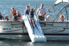 Rave Pontoon Slide...this is what we'll be doing Saturday!