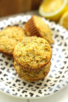 18. Lemon Poppyseed Muffins #healthy #fruit #recipes http://greatist.com/eat/ripe-fruit-recipes-to-avoid-food-waste